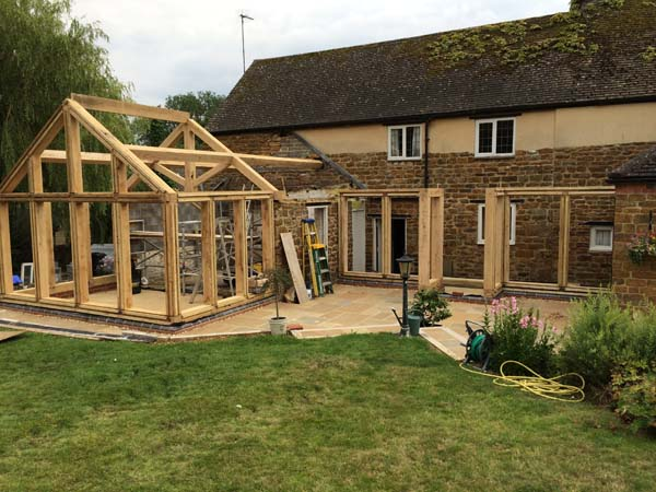 Oak Framed Gardens Rooms Hatfield Oak