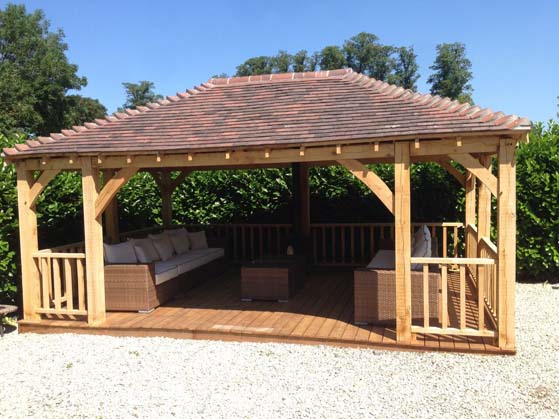 Oak Framed Gazebos